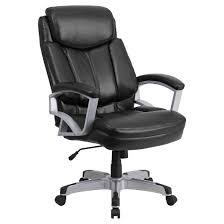 leather swivel office chair. capacity big u0026 tall executive swivel office chair black leather flash furniture n