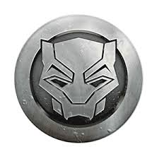 Black Panther Monochrome PopSockets Grip