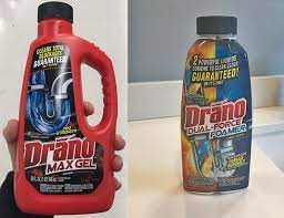 does drano work how does it work