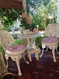 shabby chic patio furniture. oliviau0027s romantic home kimu0027s shabby chic pink palace tour patio furniture