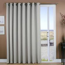 curtain for sliding glass doors found it at wayfair grasscloth lined grommet patio single curtain panel