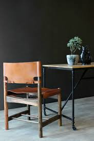 wood and leather dining chair from rockett st george