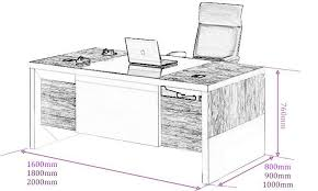 office table size. reclaimed wood furniture engraving standard office table - size of study .