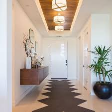 entrance lighting ideas. way to make an entrance our plura flush mount lighting looks incredible in this entryway ideas