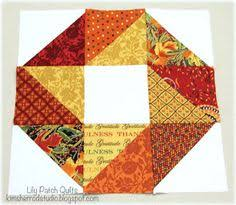 Buzzing and Bumbling: Tutorial for the Don't Leaf Me Alone block ... & Lily Patch Quilts: Leafs Me Happy Adamdwight.com