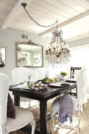 size chandelier for long dining table what do i in