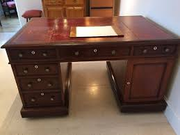antique mid 19th century mahogany partners desk office furniture equipment 1 century office equipment