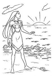 Small Picture Pocahontas And Kocoum Pocahontas Coloring Pages Pinterest