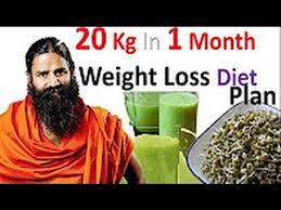 Baba Ramdev Weight Loss Diet Chart In Hindi Masaran U