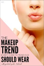 here is the best over 40 spring makeup trend natural makeup