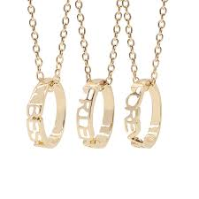 <b>Fashion Best Friends</b> Forever Pendants & Necklaces 3 Piece BFF ...