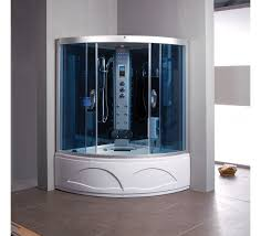 home and furniture magnificent whirlpool steam shower in 63 inch and bathtub combo unit by
