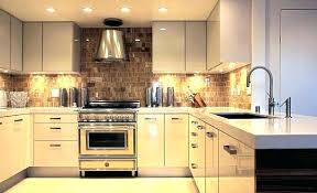 R Under Cabinet Kitchen Lighting Options Install Cabinets  Battery Operated Design