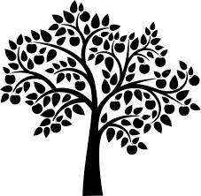 apple-tree-silhouette-1674395.jpg | Solo | Pinterest | Cricut ...