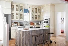 rustic kitchen island remodel
