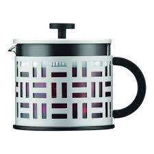 <b>Чайник заварочный с прессом</b> Bodum Eileen, 1.5 л, цвет белый ...