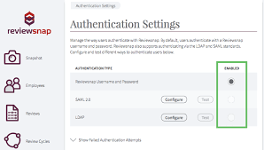 Saml Authentication Setting Up Saml Authentication Reviewsnap Performance
