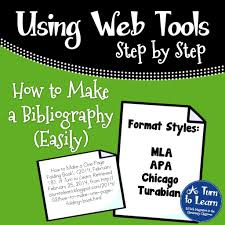 How To Make A Bibliography Easily A Turn To Learn