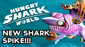hungry shark new shark spike powerups spike gameplay  hungry shark new shark spike powerups spike gameplay game hog
