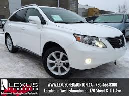 Used White 2010 Lexus RX 350 AWD Review | Stettler Alberta - YouTube