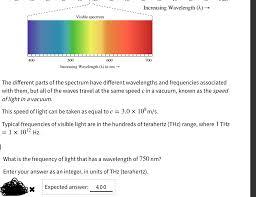 Speed Of Light And Wavelength Solved An Ocean Wave Originally Has An Amplitude Of 2 25