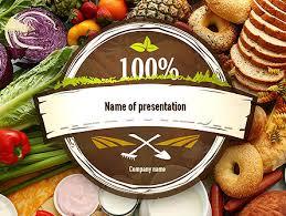 Food Presentation Template Abundance Of Food Presentation Template For Powerpoint And