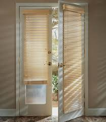 french door blinds and shades
