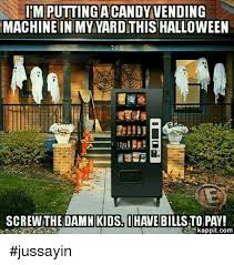 Halloween Candy Vending Machine