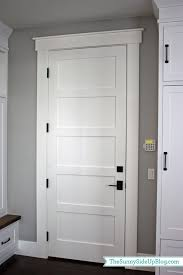 White interior door styles Different Style Farmhouse Interior Doors Shaker Style Interior Doors Interior Panel Doors Farmhouse Door Pinterest Mudroom Doorshardware Pinterest Doors Interior Door