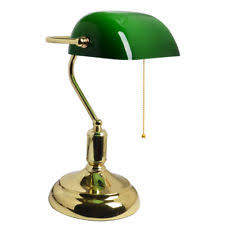 office table lamps. traditional antique brass green bankers table office desk lamp lounge light uk lamps e