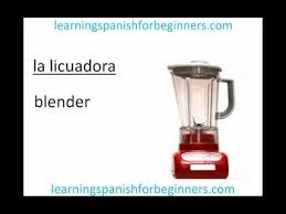 kitchen spanish vocabulary learning spanish for beginners 1