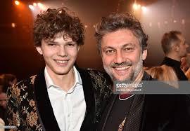 <b>Jonas Kaufmann</b> and his son Fabio Kaufmann during the second ...