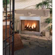 propane gas ventless fireplace inserts new majestic odgsr42a al fresco 42 outdoor radiant vent free fireplace