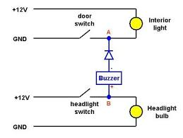 wiring diagram for lights on buzzer wiring image lights on warning buzzer on wiring diagram for lights on buzzer