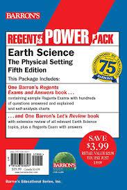 Regents Earth Science Power Pack Book By Edward J