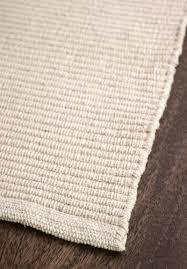 <b>Solid Natural</b> Flatweave Eco Cotton Rug - Hook & Loom