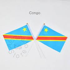 Democratic Republic of the Congo <b>14*21cm</b> 10pieces Banner <b>free</b> ...