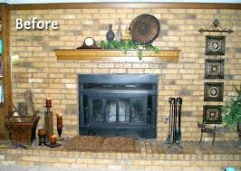painted brick fireplace painting brown brick fireplace white painted brick fireplace painting brown brick fireplace white