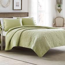 78 best Laura Ashley Bedding images on Pinterest | Quilt sets ... & Laura Ashley Felicity Light Green Quilt Set Adamdwight.com