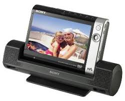 sony portable dvd player. d-ve7000s with docking cradle sony portable dvd player