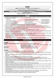 Obiee Admin Sample Resume Sidemcicek Com Fresher Fair In Resumes