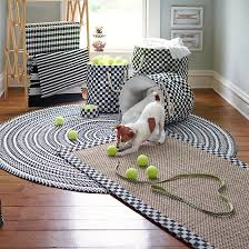 white braided rug brilliant mackenzie childs crayon 6 round black inside 14