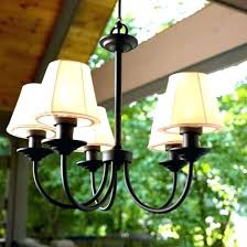 gazebo led outdoor chandelier w remote gorgeous bulbs hanging solar