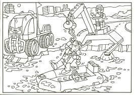 Bovenste Deel Kleurplaat Lego City Trein Krijg Duizenden