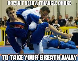 MMA Meme of the Day: Clark Gracie, Ridiculously Photogenic Jiu ... via Relatably.com