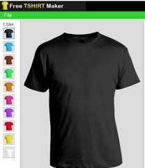 T Shirt Editing Software Free T Shirt Maker Add Custom Text Save Design And T Shirt
