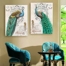 Peacock Colors Bedroom Peacock Home Decoration For You Who Love The Majesty Effect Of The