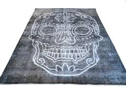 skull rugs area rug awesome home depot sugar whole skull rugs sugar