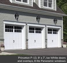 Image Amarr Princeton P13 Garaga Garage Doors View Garagas Traditional Style Garage Door Designs