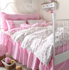 girls twin sheet set fashion cute flower bedding set teen girl twin full queen king